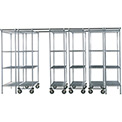 SPAC TRAC 6 Unit Storage Shelving Poly-Z-Brite 36x18x74