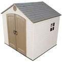 "Lifetime 8' x 7'  6"" Storage Building With Windows"