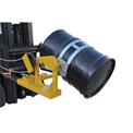 Vestil Fork Mounted Drum Carrier & Rotator DCR-205-15 1500 Lb. Capacity