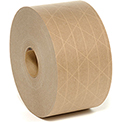 "Holland Hi Tech Reinforced Water Activated Tape 3"" x 450' 5 Mil Tan - Pkg Qty 10"