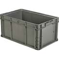 "ORBIS Stakpak NXO2415-11.5 Modular Straight Wall Container, 24""L x 15""W x 11-1/2""H, Gray"