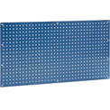 "Heavy Duty Steel Pegboard 36"" x 19"" Blue"