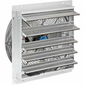"Exhaust Ventilation Fan With Shutter 18"" 3-Speed With Hardware"