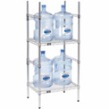5 Gallon Water Bottle Storage Rack, 4 Bottle Capacity
