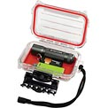 """Plano Guide Series Airtight & Waterproof Storage Case, 6-1/2""""L x 4-1/2""""W x 2-1/8""""H, Red"""