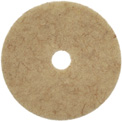 "20"" CocoPad Coconut Fiber Burnishing Pad, Medium to High Freq. - 5 Per Case"