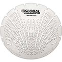 Global Industrial™ Urinal Screen - Melon 10 Screens/Case