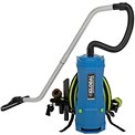 Global Industrial™ 6 Quart HEPA Backpack Vacuum w/8-Piece Tool Kit