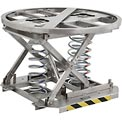 Best Value Stainless Steel Spring-Actuated Pallet Carousel Skid Positioner