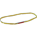 Global Industrial™Poly Web Sling, HD, Endless w/ Durable Edge, 4Ft L-3200/2500/6400 Lbs Cap