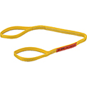 Global Industrial™Poly Web Sling, Light Duty, Eye&Eye 4 Ft L x 1 In W-1600/1280/3200 Lbs Cap