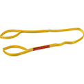 Global Industrial™Poly Web Sling, Light Duty, Eye&Eye 6 Ft L x 1 In W, 1200/950/2400 Lbs Cap