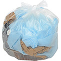 Global Industrial™ Medium Duty Clear Trash Can Liners - 7 to 10 Gal, 0.6 Mil, 500/Case