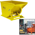 Yellow Legs for Wright Self-Dumping Hoppers