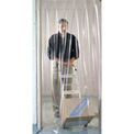 Pedestrian Strip Door Curtain 8'W x 8'H