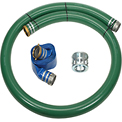 "4"" Trash Pump Hose Kits w/ Aluminum Couplings and Fittings"
