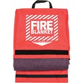 Pac-Kit Woolen Fire Blanket in Nylon Pouch, 21-650