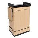 Multimedia Computer Podium / Lectern without Sound - Maple