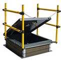 Safety Railing For Roof Hatches