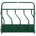 "Behlen Country Hay Feeder Panel With S-Bar 4 Feeding Spaces 72""L x 2""W, Green"