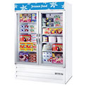 "Two Door Glass Door Merchandiser Freezer, 52""W - MMF49-1-W FREEZER"