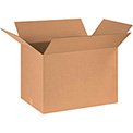 "Cardboard Corrugated Box 30"" x 24"" x 20"" 200lb. Test/ECT-32 - 15 Pack"