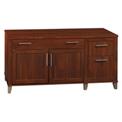 "Bush Furniture Credenza - 60"" - Hansen Cherry - Somerset Series"