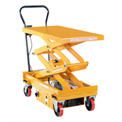 Vestil DC Power Hydraulic Double Scissor Cart CART-1000D-DC
