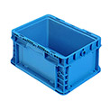 "Orbis Stakpak Container - 12X15X9-1/2"" - Blue"