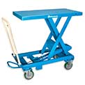Bishamon Mobilift Manual Scissors Lift Tables - 1760-Lb. Capacity