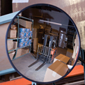 """Relius Solutions Convex Safety Mirrors - Glass - 30"""" Dia. - Outdoor"""