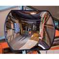 """Relius Solutions Low-Clearance Safety Mirror - Acrylic - 12X18"""" - Indoor"""