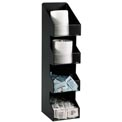 Dispense-Rite® Countertop Vertical 4 Section Lid/Condiment Organizer