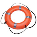 Datrex DX024RD Life Ring w/Tape, USCG/TC, Orange, 24""