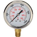 "Dynamic 2 1/2 "" Fluid Glycerine Filled Pressure Gage Stem 10000 PSI"