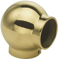 "Lavi Industries, Ball Elbow, for 1"" Tubing, Polished Brass"