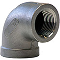 1-1/4 In. 304 Stainless Steel 90 Degree Elbow - FNPT - Class 150 - 300 PSI - Import