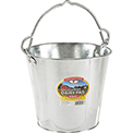 Little Giant Dairy Pail GP8, Galvanized Steel, 8 Qt.