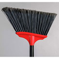 "Vortex Angle Broom w/ 48"" Metal Handle - Long Fibre - Fine Sweep"