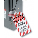 """Master Lock® Safety """"Do Not Operate"""" Lockout Tagout Tags, English, 12/Bag, 497A"""