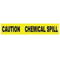 Printed Barricade Tape - Caution Chemical Spill
