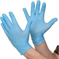 North®Dexi-Task™ 5 mil Disposable Nitrile Gloves, LA049PF/L, Box of 100