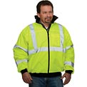 Hi-Vis Value Bomber Jacket, Hi-Vis Yellow, L
