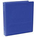 "Omnimed® 2-1/2"" Antimicrobial Binder, Side Open, Holds 450 Sheets, Blue"