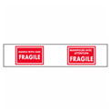 Printed Carton Sealing Tape - Fragile Handle w/ Care - Bilingual - Pkg Qty 12