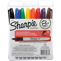 Sharpie® Permanent Marker, Pen Style, Fine Point, Assorted Ink, 8/Set