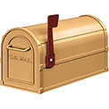 Salsbury Antique Rural Mailbox 4850A-BRS - Brass