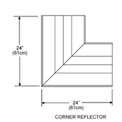 SunStar Corner Reflector - For Straight and U-Shaped Infrared Heaters 43342000