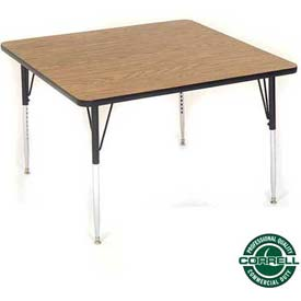 Correll - Square Activity Tables With Standard & Juvenile Height