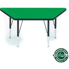 Correll - Trapezoid Activity Tables With Standard & Juvenile Height